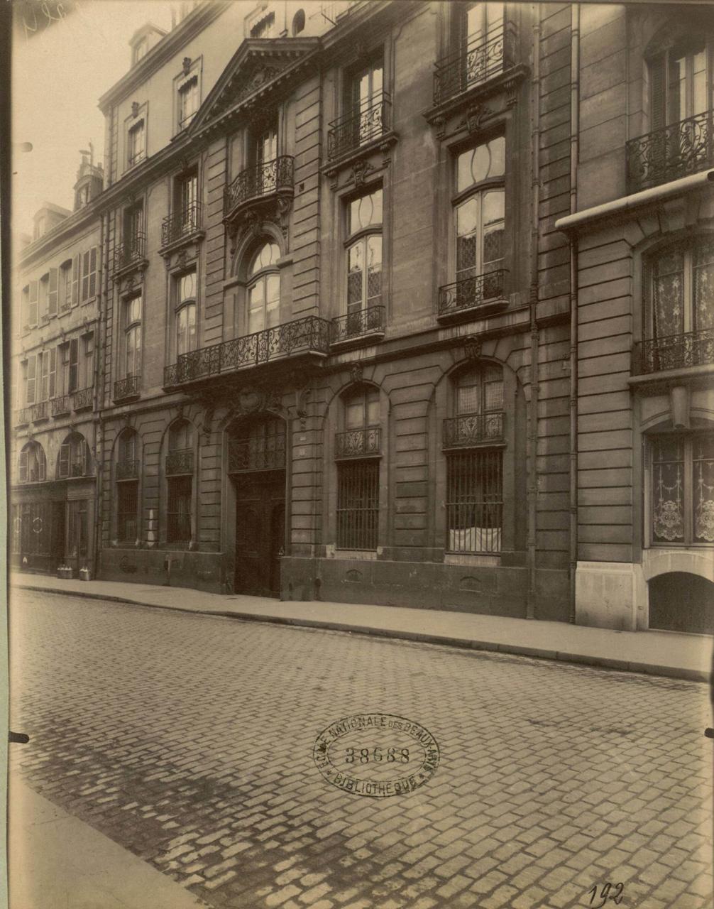 1900. Особняк Клермон-Тоннер на улице Шерш-Миди, 89