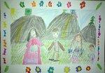 Мустафаева Камила (рук. Францева Елена Ивановна ) - Моя семья