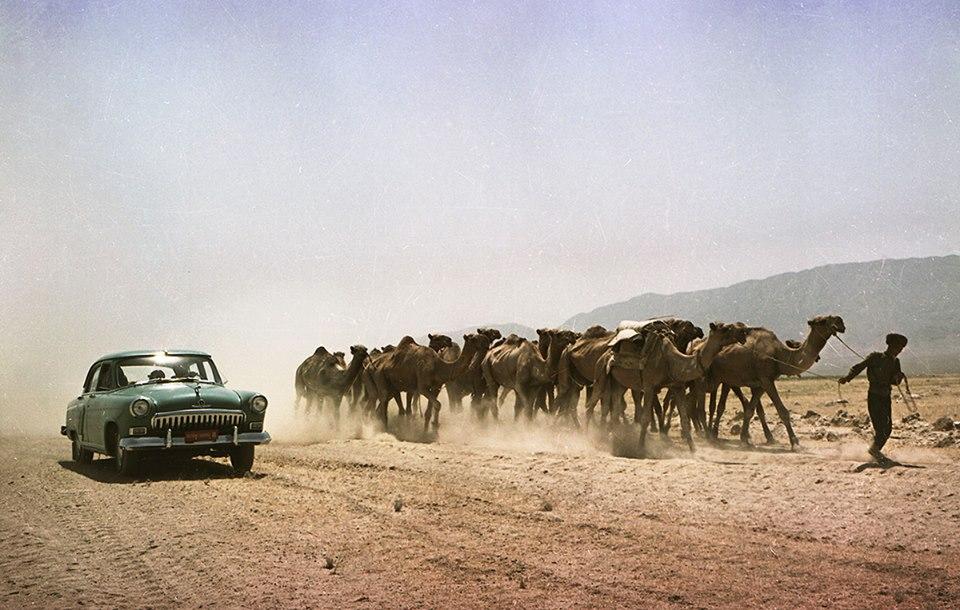 1959 Фото сделано во время государственных испытаний в пустыне Каракумы (Туркменистан, 1959 г.) прототип второго выпуска.jpg