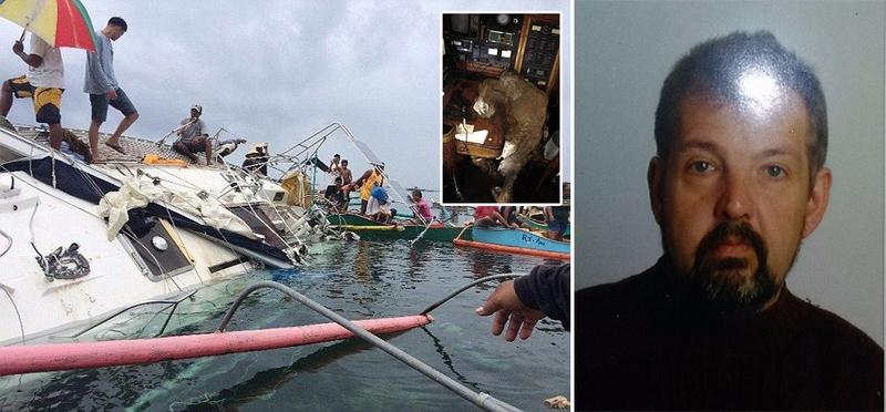 Возле филиппинского побережья найдена яхта с мумией путешественника