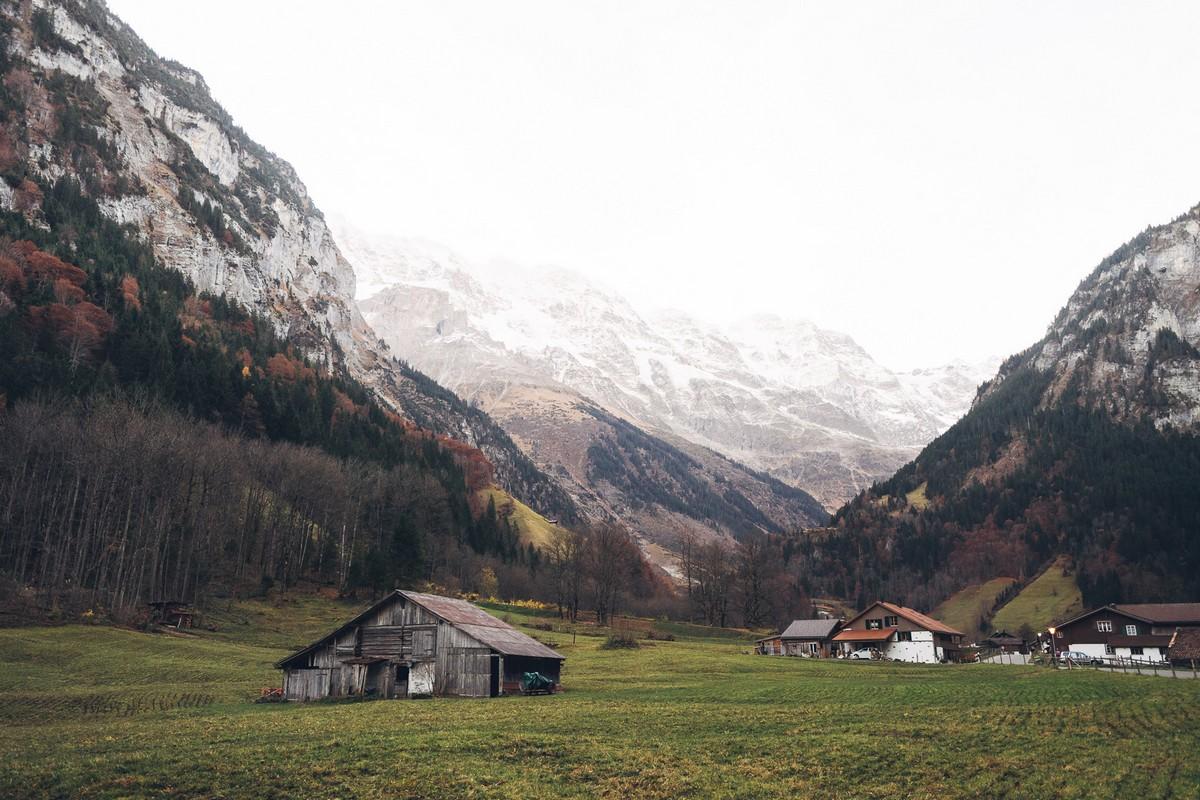 Бернские Альпы на снимках Johan Lolos