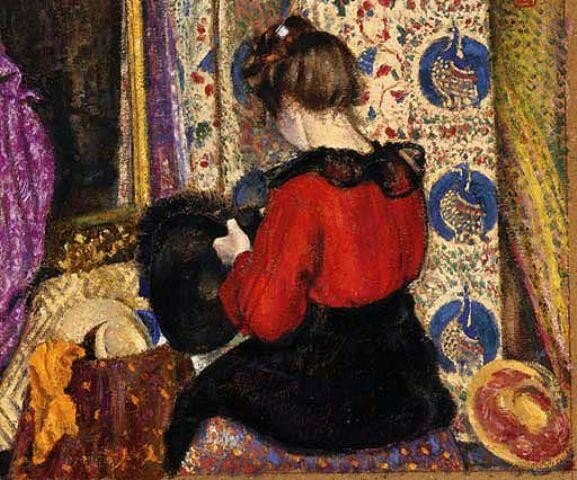 LA MODISTE (1901)  Жорж Леммен