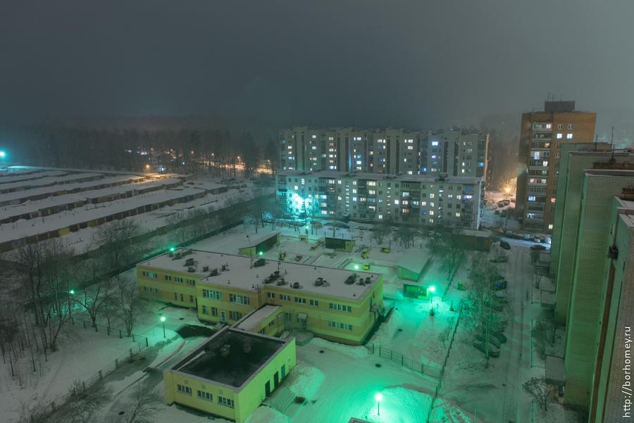 двор на улице Силкина
