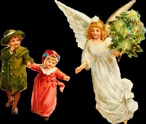 рождественские ангелы