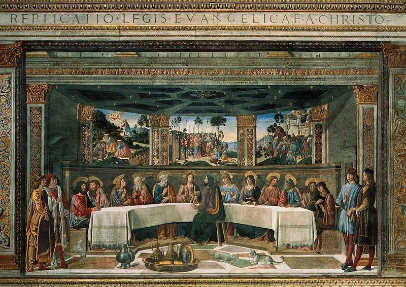 Прекрасные росписи Сикстинской капеллы 0 13c0f4 1391354d XL