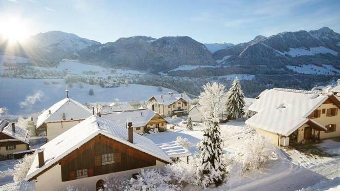 Прекрасные европейские горы Альпы в снегу 0 221f60 91ee1545 XL
