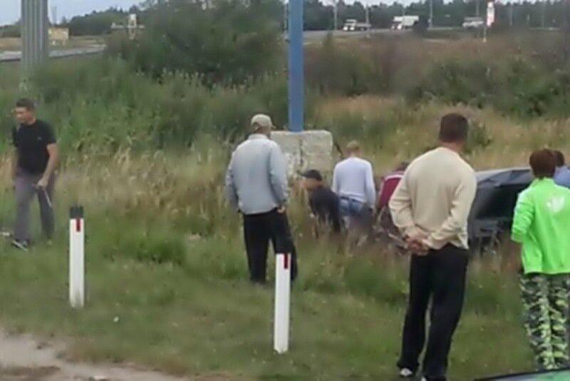 В Ростовской области 300 человек линчевали виновника ДТП