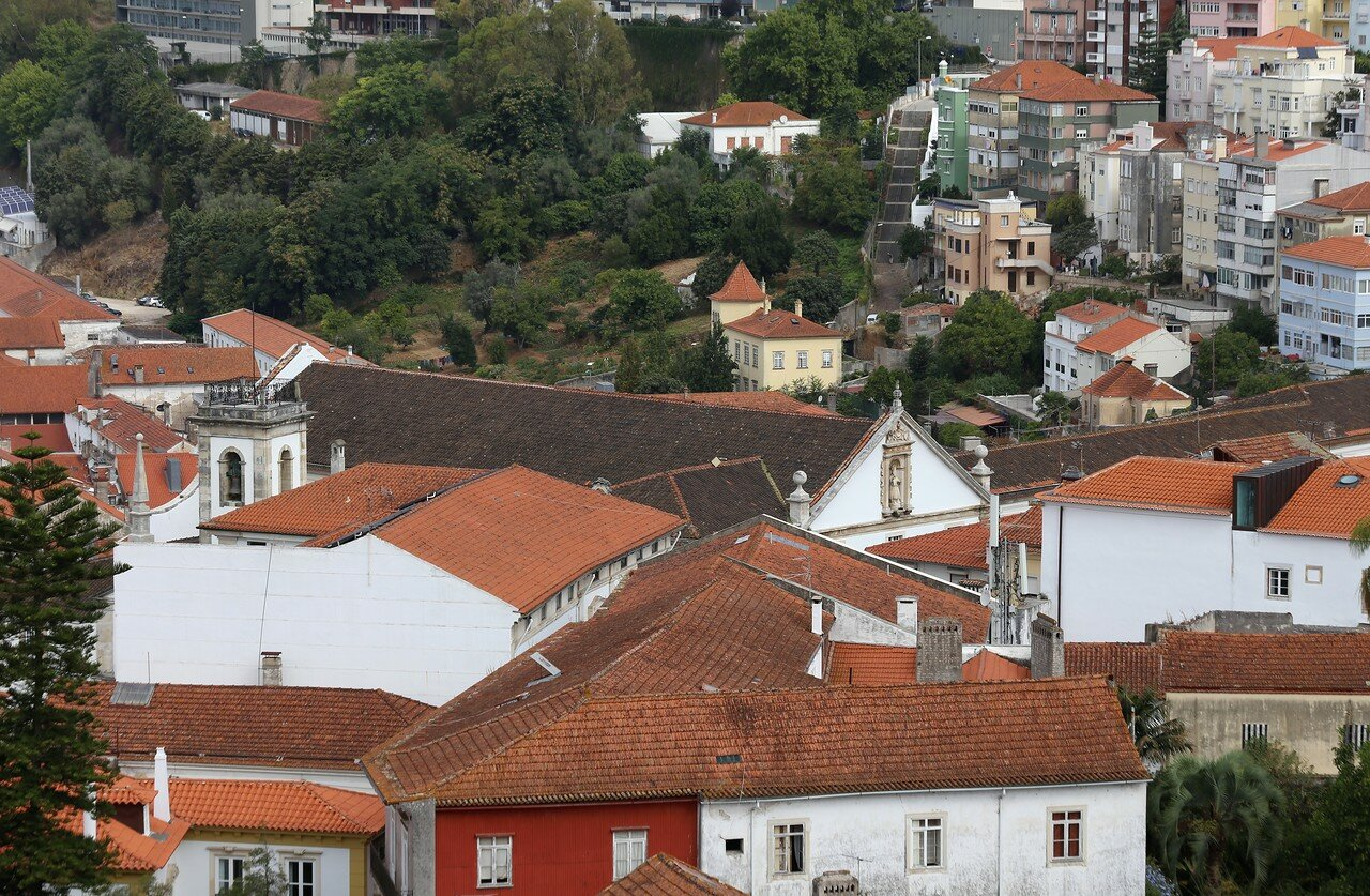 Coimbra view from the University