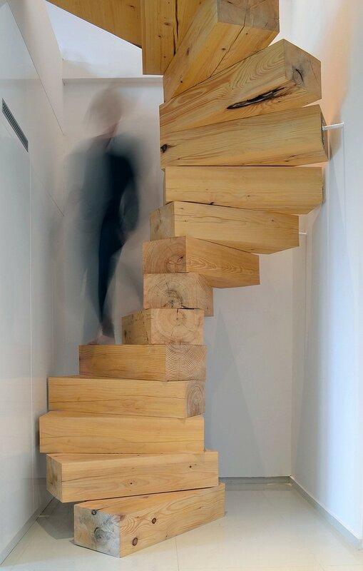 Лестница для дома на второй этаж дизайн фото 25