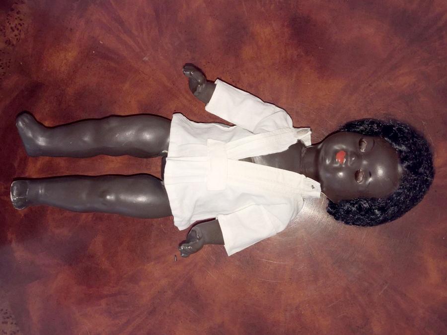 Антикварная немецкая коллекционная кукла Koenig & Wernicke
