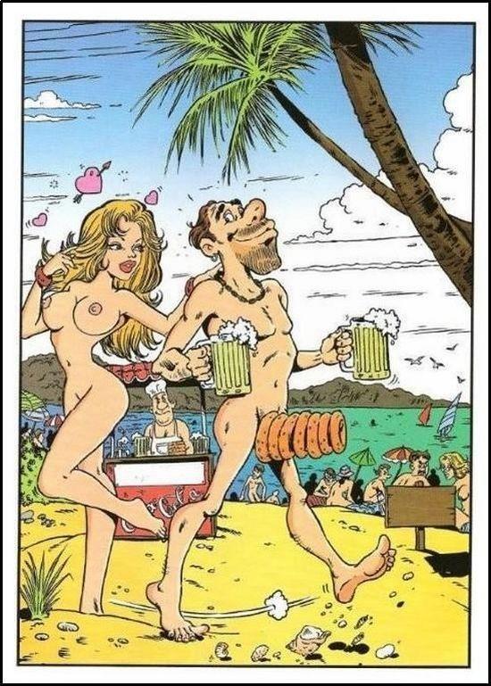 Самотык карикатуры эротика и секс