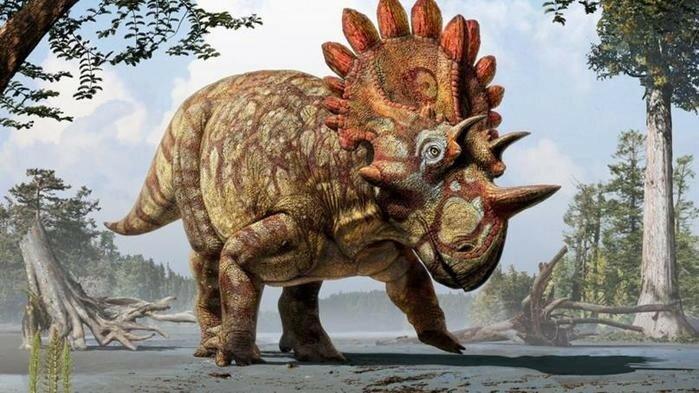 Канадский динозавр с королевским воротником по прозвищу Хеллбой