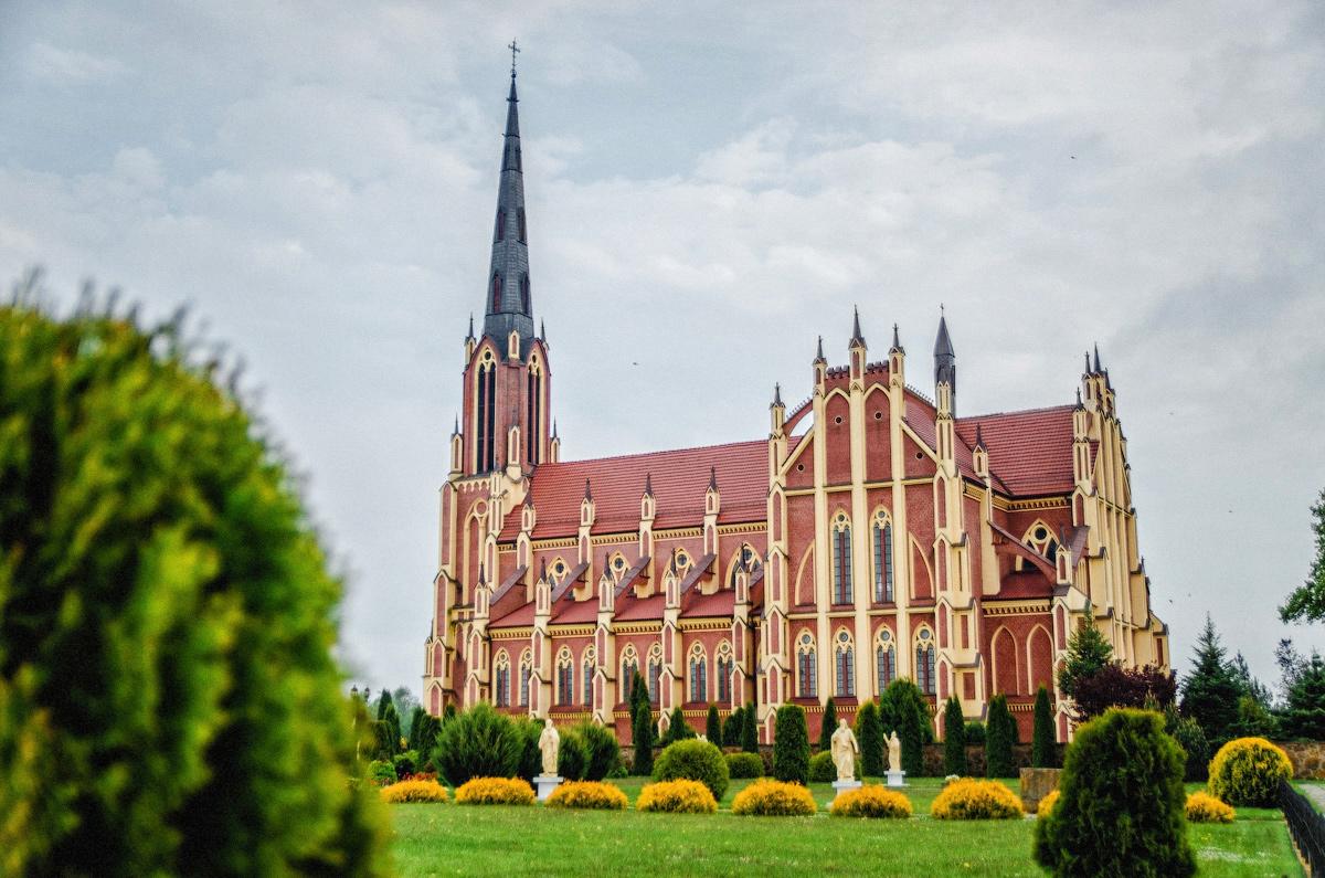 Троицкий костел в Гервятах, Гервяты