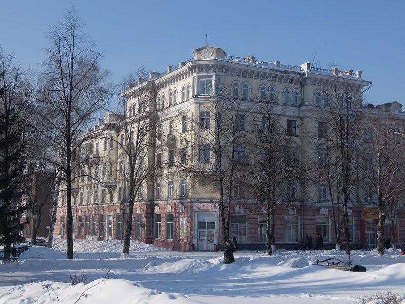 Киселевск - Здание на улице Ленина