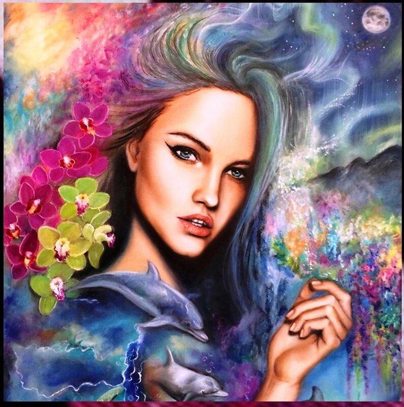 Фантастические девушки из снов на картинах Эрики Векслер (8).jpg