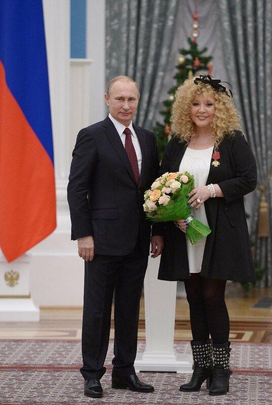 Путин и Пугачева