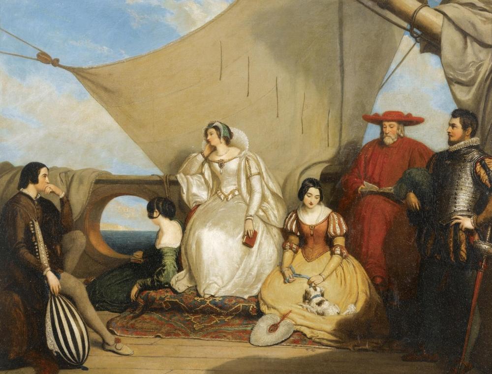 Marie Stuart, 1858 Прощай Франция.