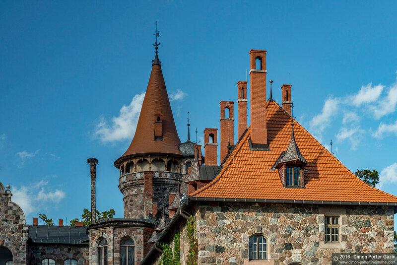 Цесвайне. Цесвайнский замок