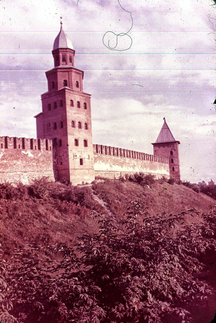 Новгород. Кремль. Башня Кокуй