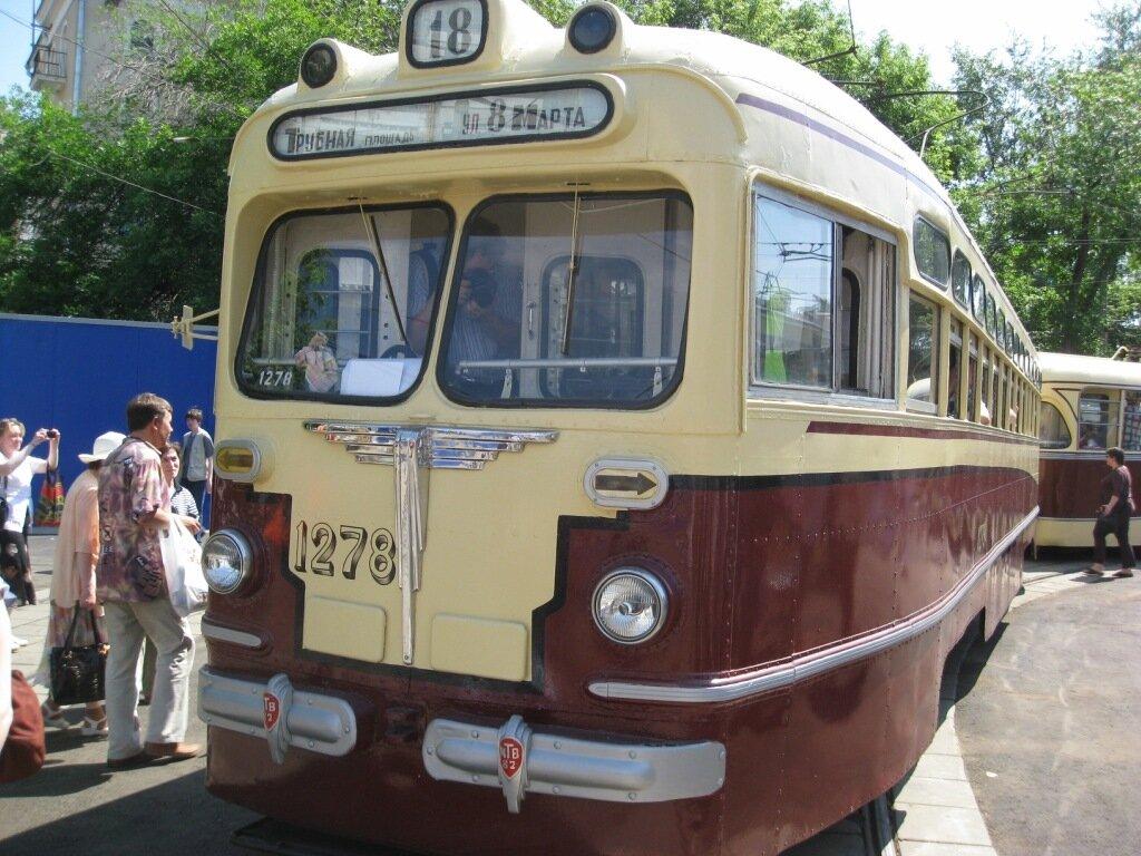 Ностальгия по старому трамваю