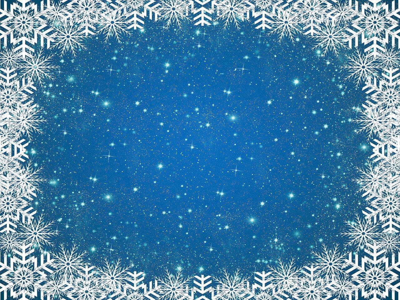 новогодние (зимние) фоны