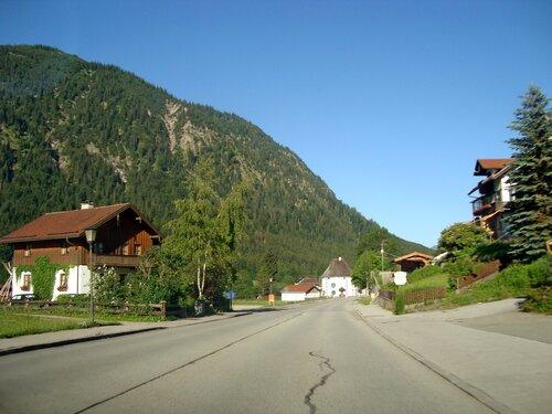 По дороге в Австрию