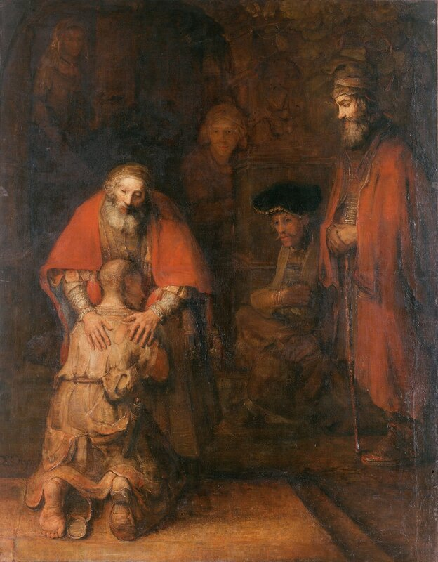 Рембранд Харменс Ван Рейн - Возвращение блудного сына, Эрмитаж.jpg