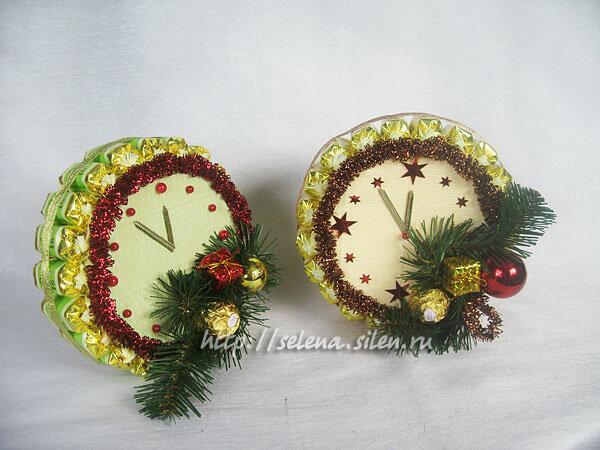 новогодний месяц - букеты из конфет в Челябинске - КАТАЛОГ ПОДАРКОВ - N4.Biz