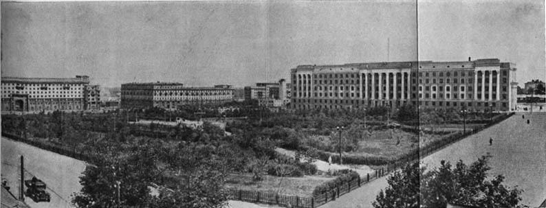 Площадь Революции (панорама). 1949 г.