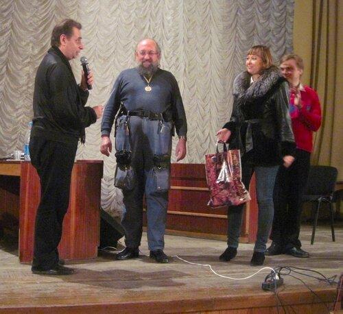 Награждение Вассермана на ЧУСИ-2011