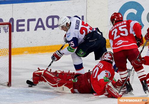 Спартак - СКА 1:8 18-11-2011
