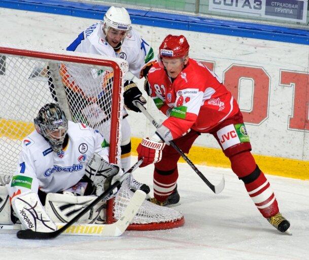 «Спартак» vs «Северсталь» 3:5 чемпионат КХЛ 2011-2012 (Фото)