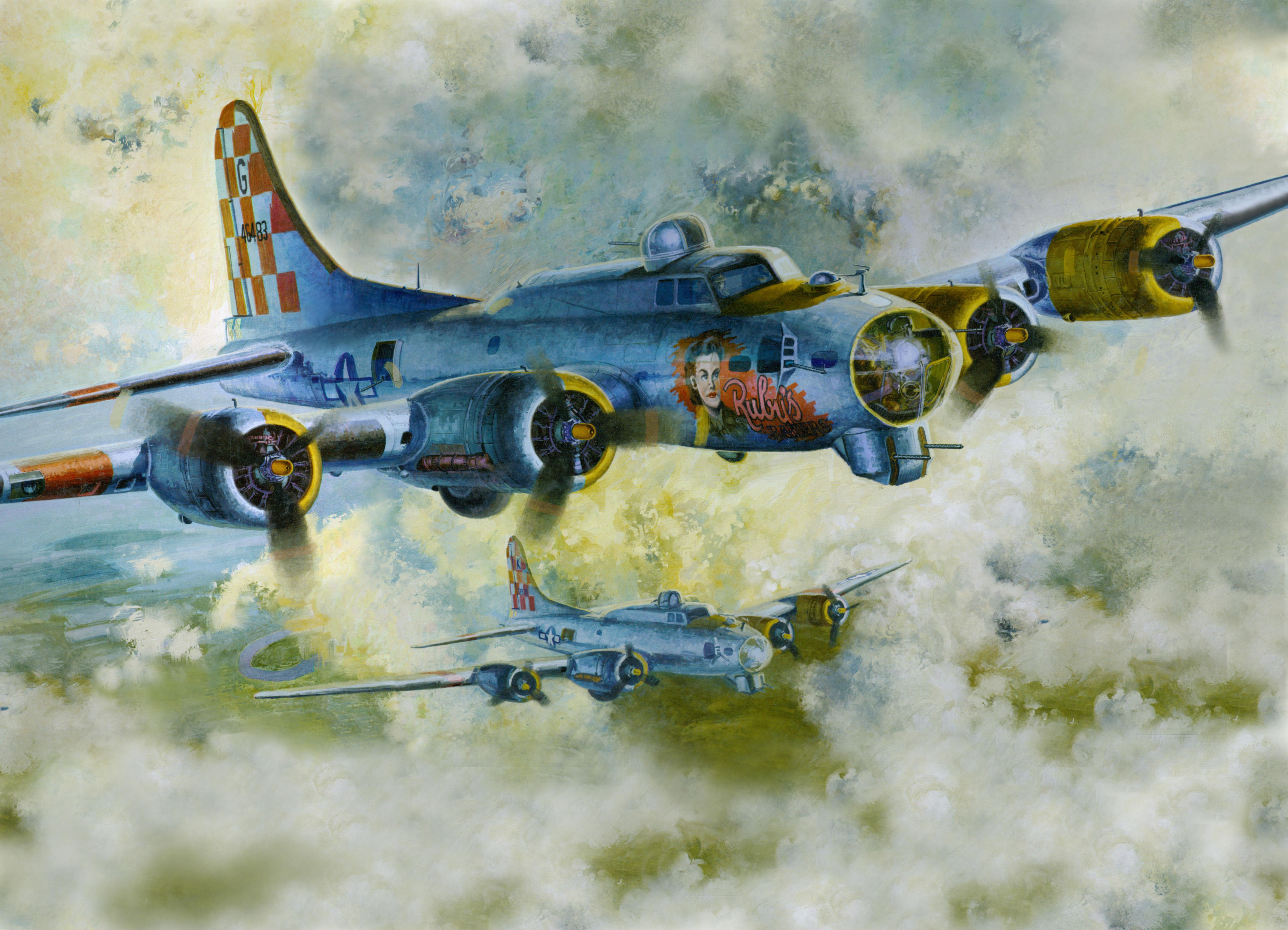 рисунок B-17G