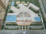 Макет строящейся Интеллекутальной школы Назарбаева