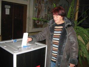 4 декабря 2011г. Выборы на Рябчинском избирательном участке.