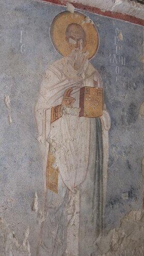 Св.Николай на фреске.