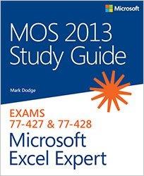 Книга MOS 2013 Study Guide for Microsoft Excel Expert