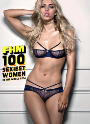 Журнал Журнал FHM. 100 Sexiest Women In The World (2014) UK