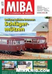 Журнал MIBA Die Eisenbahn im Modell №1 2015