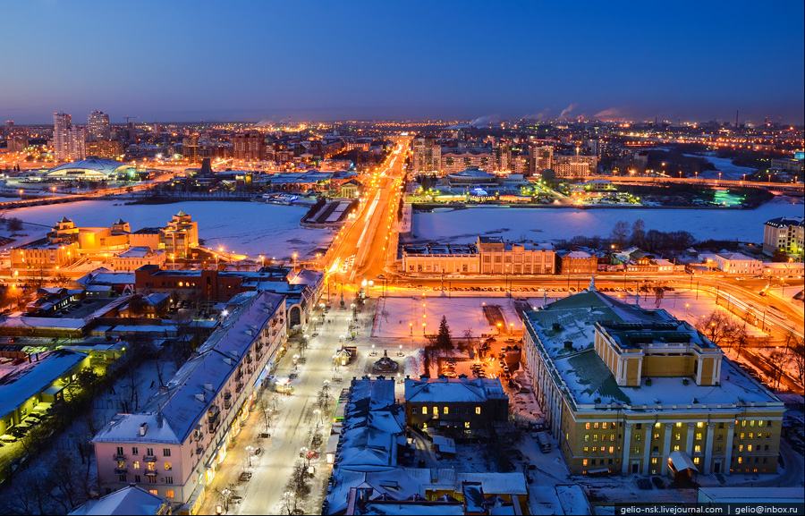 Челябинск с высоты (2011) - Gelio (Степанов Слава)