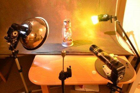 фотографируем керасиновую лампу
