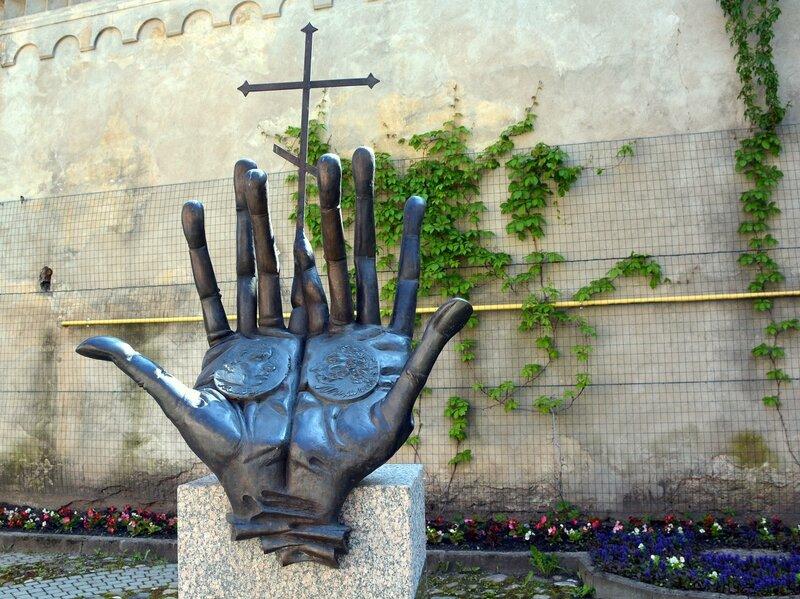 Памятник Пушкину и Ганнибалу