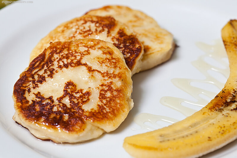Сырники из творога бананом рецепт пошагово