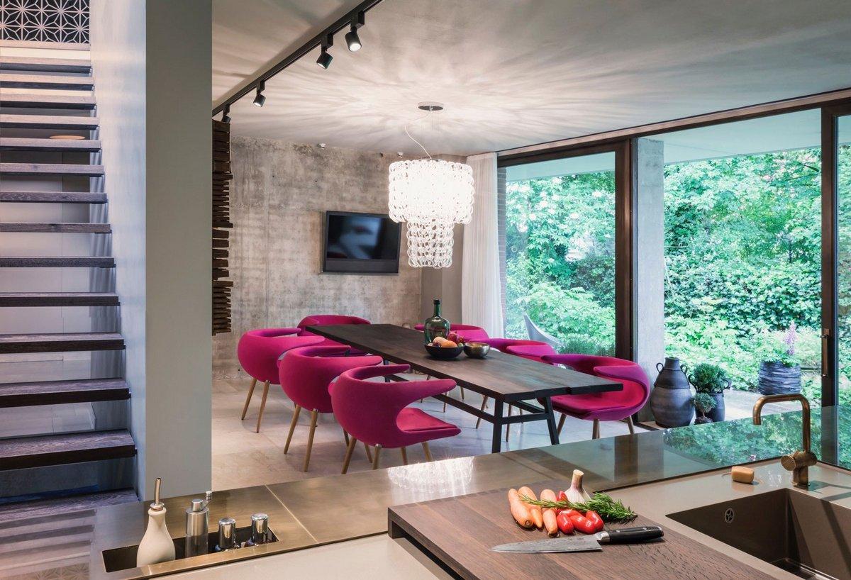 House in an Urban Jungle, Dreimeta, дом в городских джунглях, предметный дизайн, комфортный интерьер фото, проекты немецких частных домов