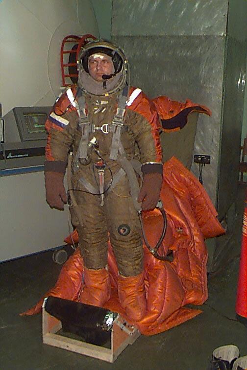 Кокон сброшен-подготовка к парашютированию