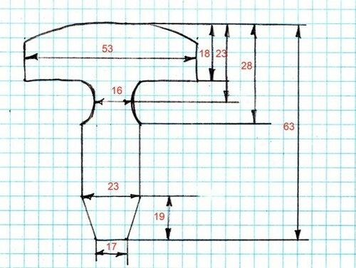 схема и размеры части 2