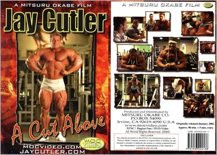 Джей Катлер - Cверхрельеф / Jay Cutler as in A Cut Above (2002) DVDrip