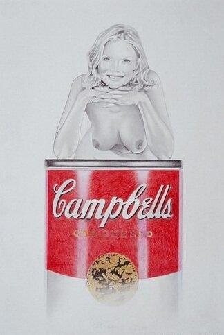 Рекламный поп-арт