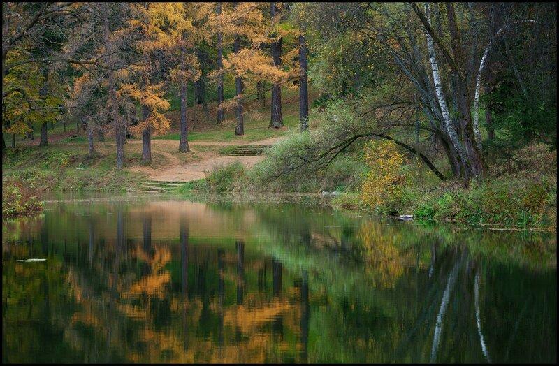 Осень в старой усадьбе