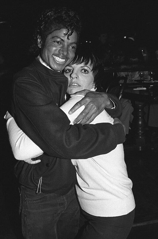 Майкл Джексон (Michael Jackson) и Лайза Миннелли (Liza Minnelli), 1980